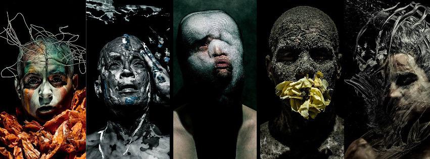 Julie Laurin self-portraits