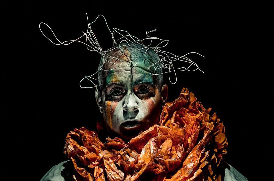 Creative self-portrait by Julie Laurin